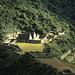 Die Inka-Ruinen von Choquequirao.