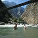 Bad im Río Apurimac.