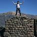 Posing in Pisaq.