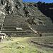 Die Ruinen von Ollantaytambo.
