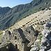 Terrassenanlagen in Machu Picchu.