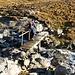 Brücke über die Ova Pischa noch etwas rutschig
