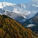 3 Tage zuvor: Ausblicke bei der Fahrt auf der Felbertauernstraße  nach Matrei. Hier, auf der Südseite des Alpenhauptkamms, dominieren Lärchen die Bergwälder.