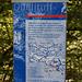 Informative Eingangstafel am Naturdenkmal 'Quelltuff' ... weitere gibt's unterwegs....