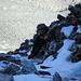 Ausgesetzte und schneebedeckte Kletterei aufs Aroser Rothorn 2980m