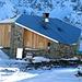 Bei der Abfahrt haben wir der Sewenhütte 2150m noch ein Besuch abgestattet. Eine geniale Bergsteiger Hütte