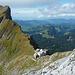 Abstieg vom Säntis: Tierwies