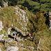 Bastion sommital de la Spitzflue : échelle