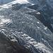 gezoomter Gletscherblick