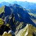 der Gipfelaufbau des Gamschopf sieht nicht nur streil aus... ER ist es auch!!!!