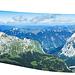 360° Panorama vom Gipfel der Kaltwasserkarspitze. Mal sehen wieviele Gipfel ich markieren kann... Hinweise (auch über Fehler) willkommen.