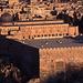 Die Al-Aqsa-Moschee und die mächtige Ostmauer des Tempelbergs.