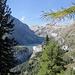 Staudamm und See kommen in Sicht