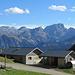 an der Stafelalpe mit Blick ins Lechquellengebirge