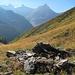 Alpe Larciolo, hinten Cassinello, Cassimoi, Punta di Val Scaradra und Torrone di Nav
