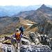 Gandstock-Gipfel. Die meisten Besucher kommen von Mettmen und steigen auch wieder dorthin ab.