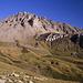 Der Sassenaire (3254m) von Nordwesten, fotografiert beim Aufstieg zum Pas de Lona.