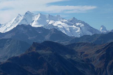 Mischabel mit Matterhorn