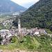 Der Kirchturm in Intragna ist der höchste im Tessin