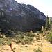 Nach der Jagdhütte verlieren wir kurz die Steigspur, gehen aber einfach weiter Richtung Süden.