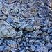 Der obere Teil vom Nordostgrat zum Piz Plazèr. Das grobe Geröll ist glücklicherweise ziemlich fest und dennoch ist der Berg wohl nur etwas für Geröllliebhaber.