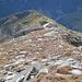 La cresta SE del Pizzo Quadro con Pioda Rotonda, Pioda Bagnata (invisibile) e Sasso del Pino