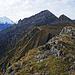 Auf dem Chilchhorn, Blick zurück. v.l.n.r Altels, unten Golitschehörnli, Hohwang, Stand