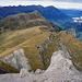 Blick auf Elsighorn, Chilchhorn, Golitschehörnli und Stand