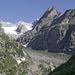 Mont Rouge de Triolet und links davon der Glacier de Triolet