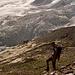 Die Coazhütte vor dem wild zerissenen Gletscherbruch des Roseggletschers. Betrüblicher schauts da [http://www.hikr.org/gallery/photo388249.html?post_id=29208#1 20 Jahre später aus].