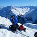 Gerd mit Snowboard