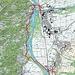 Route Landquart - Zizers