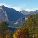 Herbst-Stimmung Blick zu Rauti und Mutteri/Rederten