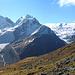 Hüttenweg mit Bernina-Gruppe