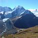 der Tschiervakessel - rechts das Ende vom Gletschersee