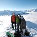 Gipfel mit Aussicht auf die Glarner Alpen