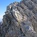 Am Altmann-Nordgrat darf man auch noch etwas kraxeln