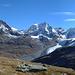 Blick zurück zur Bernina-Gruppe