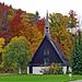 Traumhafter Herbst bei der Zufahrt zur Tour