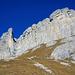 Die Felsen vom Furggegütsch, man beachte den Himmel ((-: (im Fall kein Chroma Key im Photoshop!)