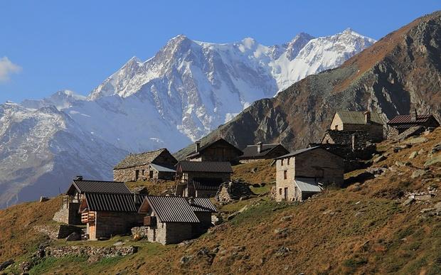 Alpe Colla und Monte Rosa