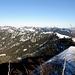 Der Blick zurück über den Grat zum Bärenturm.