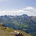 Val Laver; Im Hintergrund der mächtige Piz Fenga (Fluchthorn)