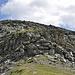 Die kurze Felspartie am Nord Grat; Wer findet die zwei Berggänger?
