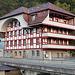 Die schön renovierte Mühle gegeüber dem Bhf. Oberdiessbach