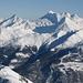 Schön eingeschneit: Wasenhorn und Monte Leone