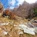 Der Weg von Monte del Motto nach Colmanicc ist dank rotweissen Bändeln zu finden