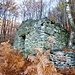 Gut erhaltene Ruine auf Costa di Ghell Pt. 1213