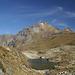 Meraviglioso paesaggio di montagna, con sullo sfondo la Rotbachlspitze..
