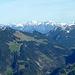 Blick nach Osten zum Oberstdorfer Hausberg - dem Nebelhorn